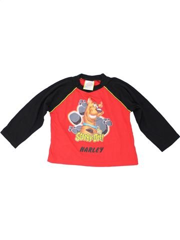 T-shirt manches longues garçon AUTHENTIC rouge 3 ans hiver #1280248_1