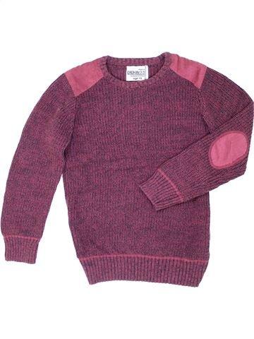 Pull garçon DENIM 73 violet 13 ans hiver #1280261_1