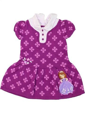 Robe fille DISNEY violet 2 ans hiver #1280644_1