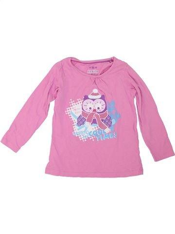 Camiseta de manga larga niña LUPILU rosa 4 años invierno #1281307_1