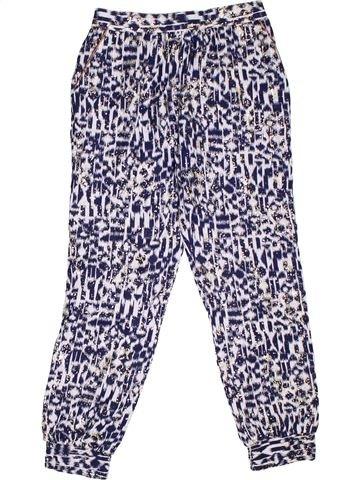 Pantalon fille MONSOON violet 10 ans été #1282562_1