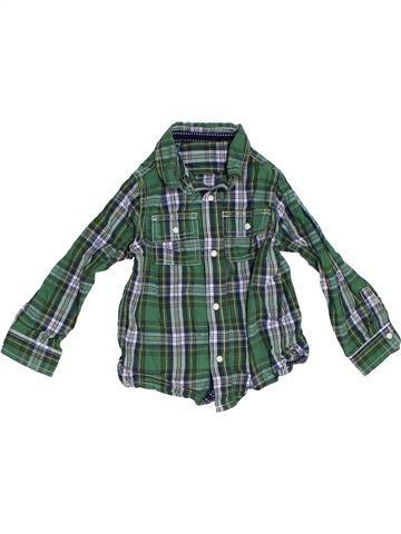 Camisa de manga larga niño MOTHERCARE verde 2 años invierno #1283722_1