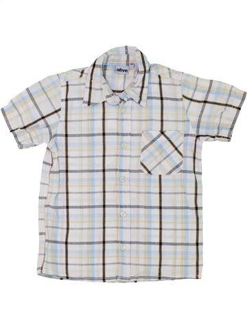 Camisa de manga corta niño ALIVE blanco 6 años verano #1283754_1