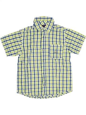 Chemise manches courtes garçon SERGENT MAJOR gris 10 ans été #1284743_1