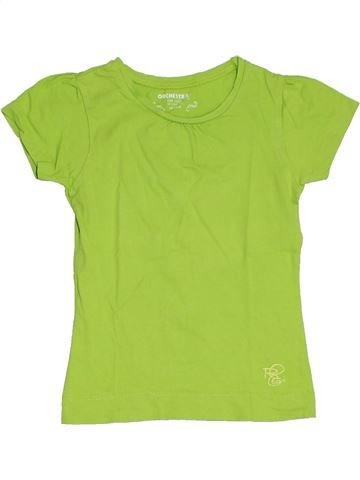 T-shirt manches courtes fille ORCHESTRA vert 5 ans été #1284755_1