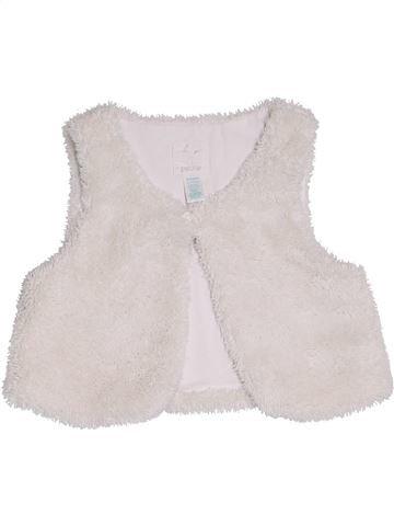 Chaleco niña OKAIDI blanco 2 años invierno #1284939_1