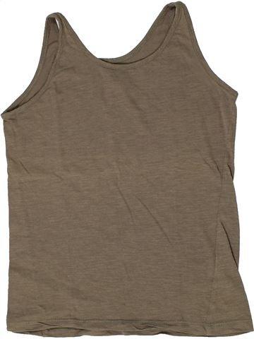 Camiseta sin mangas niña GEMO marrón 12 años verano #1284983_1