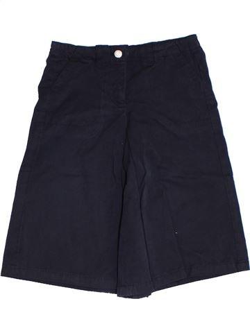 Falda-Pantalón niña OKAIDI azul oscuro 2 años verano #1285063_1