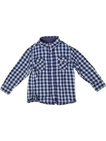 Camisa de manga larga niño OKAIDI azul 3 años invierno #1285328_1