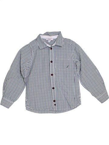 Chemise manches longues garçon JACADI gris 4 ans hiver #1285463_1