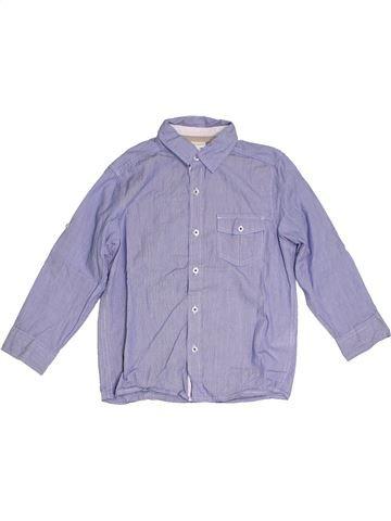 Camisa de manga larga niño VERTBAUDET violeta 6 años invierno #1285538_1