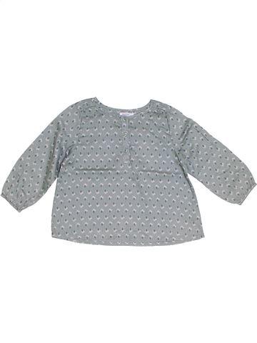 Blusa de manga larga niña BOUT'CHOU gris 3 años invierno #1285793_1