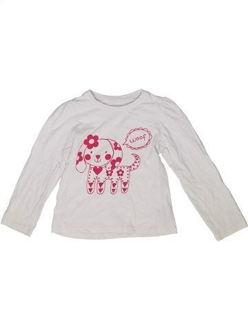 Camiseta de manga larga niña MOTHERCARE blanco 3 años invierno #1285984_1