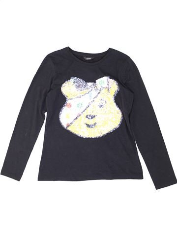 T-shirt manches longues garçon GEORGE blanc 13 ans hiver #1287097_1