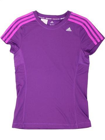 Camiseta deportivas niña ADIDAS violeta 12 años verano #1287291_1
