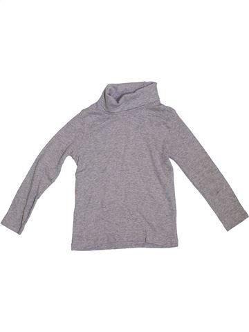 Camiseta de cuello alto niño LUPILU gris 4 años invierno #1288366_1