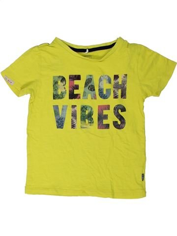 T-shirt manches courtes garçon NAME IT vert 5 ans été #1290243_1