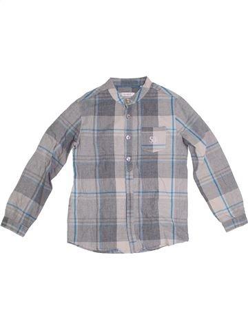 Camisa de manga larga niño OKAIDI gris 8 años invierno #1290276_1