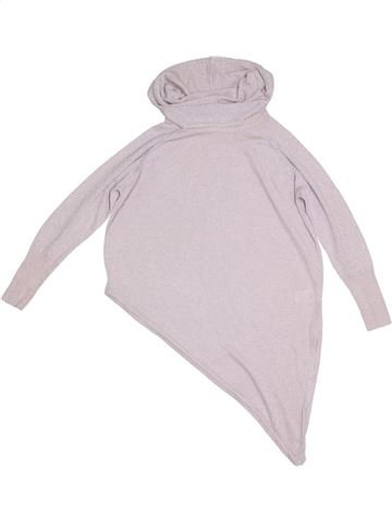 Pull fille RIVER ISLAND blanc 10 ans hiver #1290697_1