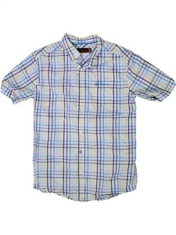 Chemise manches courtes garçon BEN SHERMAN gris 11 ans été #1292304_1