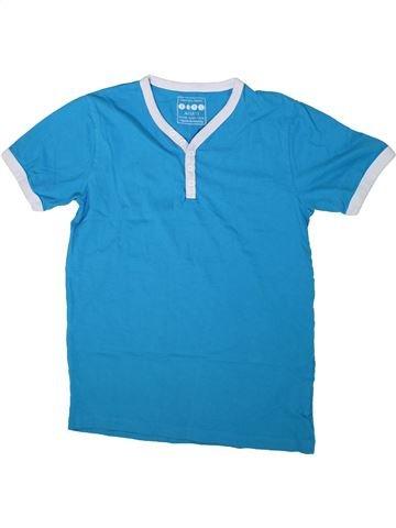 T-shirt manches courtes garçon BOYS bleu 11 ans été #1292306_1
