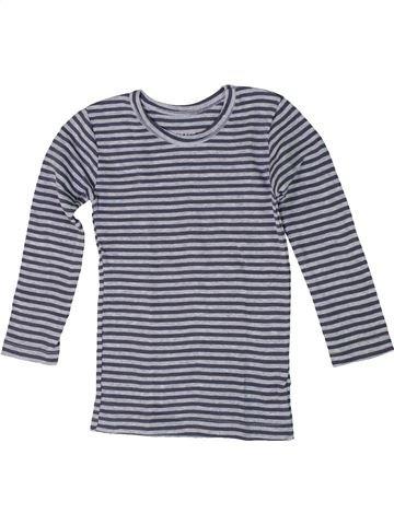 T-shirt manches longues unisexe TEX gris 3 ans hiver #1292896_1