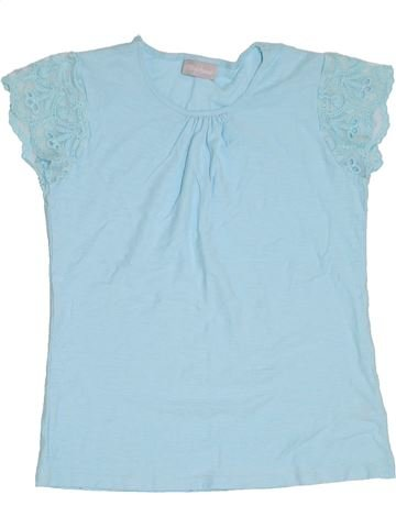 T-shirt manches courtes fille I LOVE GIRLSWEAR gris 11 ans été #1293786_1