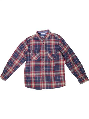 Chemise manches longues garçon JASPER CONRAN violet 9 ans hiver #1294122_1