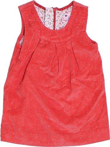 Robe fille JOHN LEWIS rouge 2 ans hiver #1294683_1