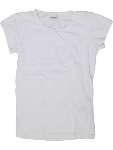 Camiseta de manga corta niña VERTBAUDET gris 10 años verano #1294909_1