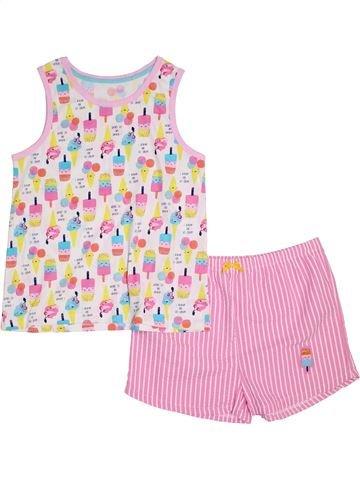 Pyjama 2 pièces garçon GEORGE rose 13 ans été #1295177_1