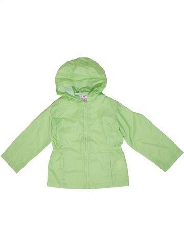 Anorak-Trinchera niña KIDKIND verde 5 años verano #1295436_1