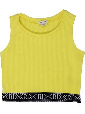 T-shirt sans manches fille RIVER ISLAND jaune 12 ans été #1295748_1