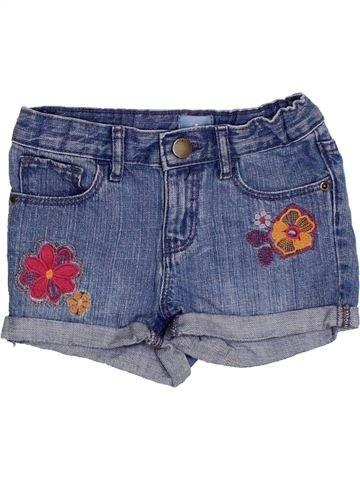 Short-Bermudas niña GAP azul 5 años verano #1295780_1