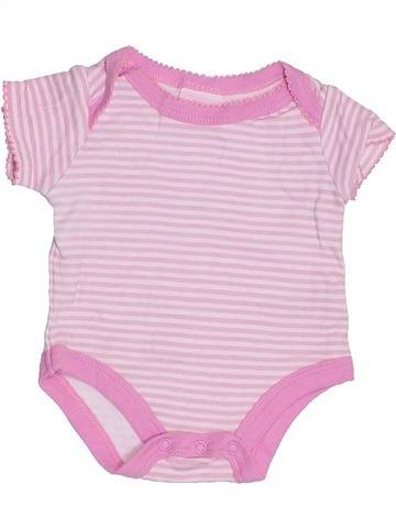 T-shirt manches courtes fille ROCK A BYE BABY rose 3 mois été #1296030_1