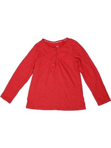 Camiseta de manga larga niña LUPILU rojo 6 años invierno #1296111_1