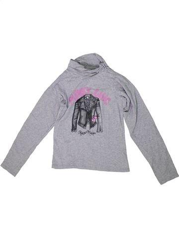 Camiseta de cuello alto niña ORIGINAL MARINES gris 10 años invierno #1297185_1