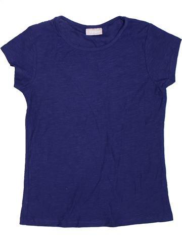 Camiseta de manga corta niña SANS MARQUE azul 9 años verano #1297381_1