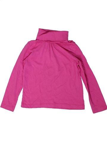 Camiseta de cuello alto niña LUPILU violeta 4 años invierno #1297468_1