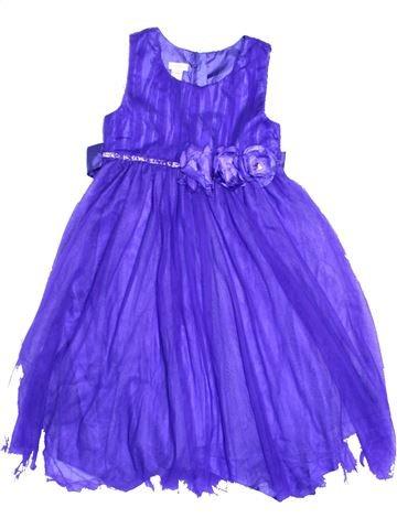 Robe fille MONSOON violet 10 ans été #1298017_1