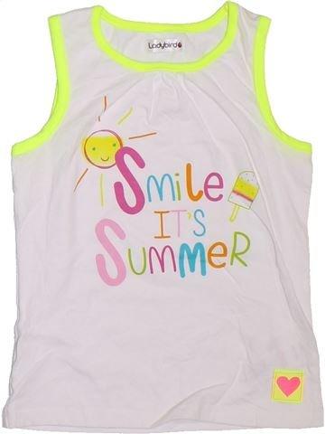 Camiseta sin mangas niña LADYBIRD blanco 5 años verano #1298046_1