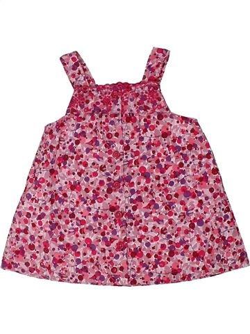 Vestido niña VERTBAUDET rosa 6 meses verano #1298347_1