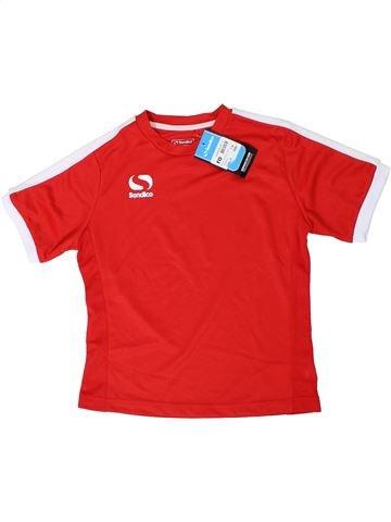 Maillot de sport garçon SONDICO rouge 8 ans été #1298397_1