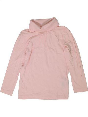 Camiseta de cuello alto niña LUPILU rosa 4 años invierno #1298523_1