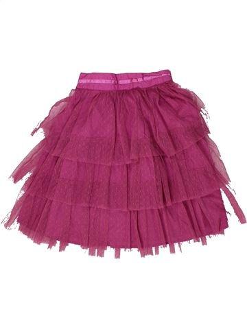 Falda niña VERTBAUDET violeta 8 años verano #1298682_1