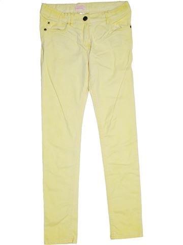 Pantalon fille ALIVE jaune 12 ans été #1298848_1