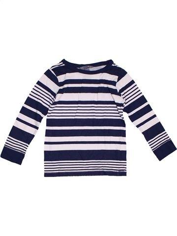 Camiseta de manga larga niño H&M blanco 4 años invierno #1299031_1