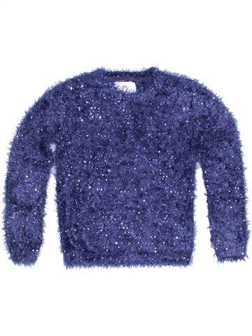Pull fille PRIMARK bleu 10 ans hiver #1299059_1