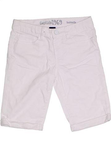 Short-Bermudas niño GAP blanco 11 años verano #1299062_1