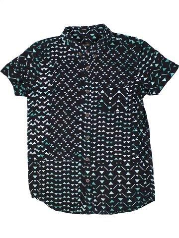 Chemise manches courtes garçon RIVER ISLAND bleu foncé 11 ans été #1299138_1